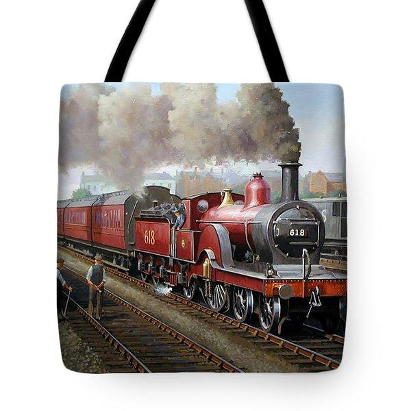Midland Railway Single 1896. Tote Bag