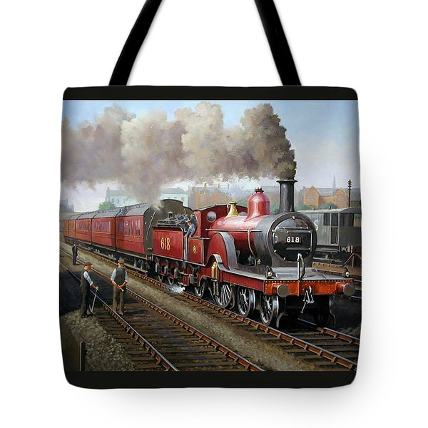 Midland Railway Single 1896. Tote Bag