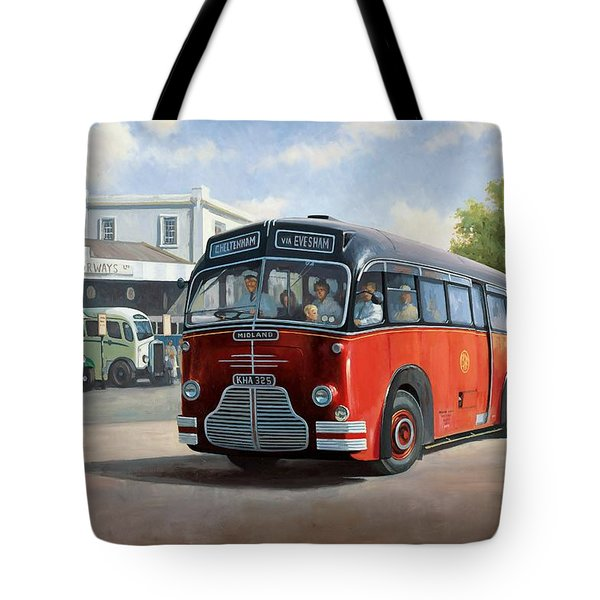 Midland Red C1 Coach. Tote Bag by Mike  Jeffries