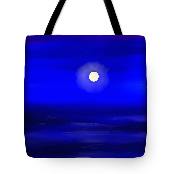 Midnight Tote Bag by Anita Lewis