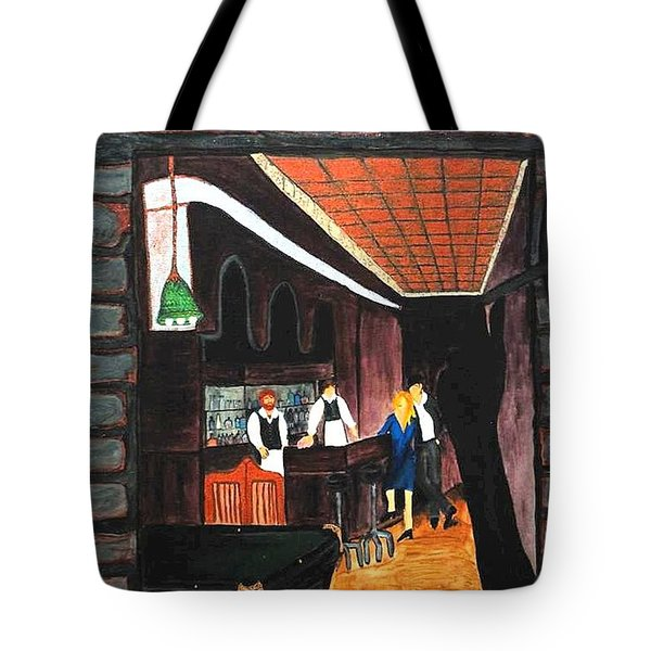 Midnight At Dylan's Tote Bag