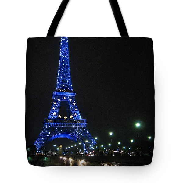 Midnight Blue Tote Bag by Suzanne Oesterling