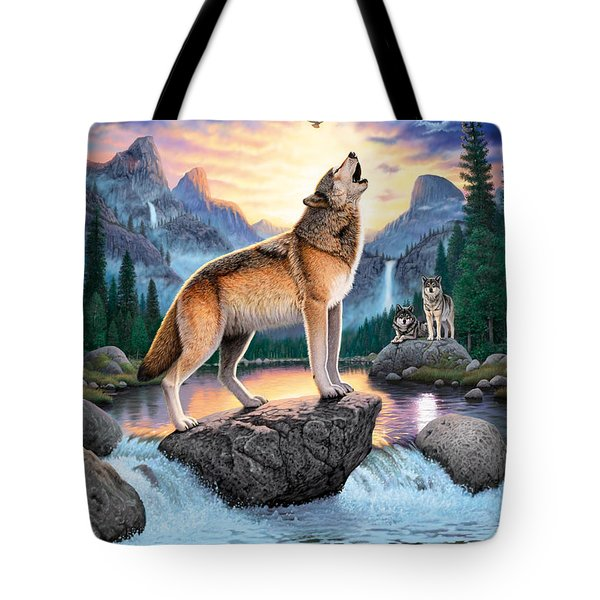 Midnight Call Tote Bag by Chris Heitt