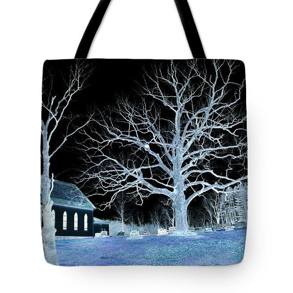 Midnight Country Church Tote Bag