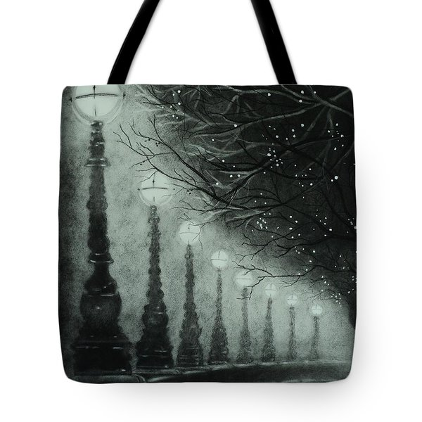 Midnight Dreary Tote Bag