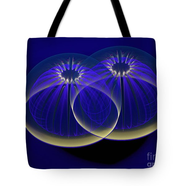 Midnight Embrace Tote Bag