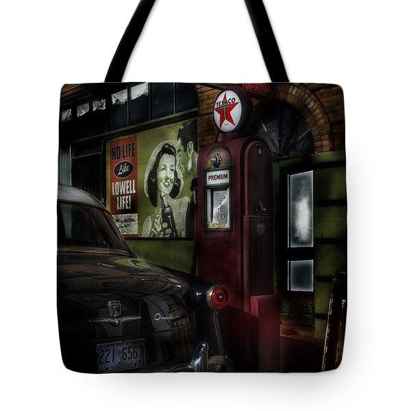 Midnight Fill Up Tote Bag by Gary Warnimont