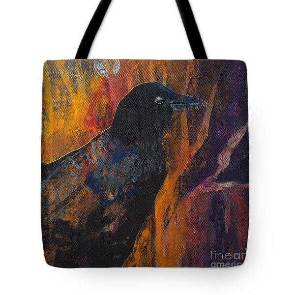 Midnight Flight Tote Bag by Robin Maria Pedrero