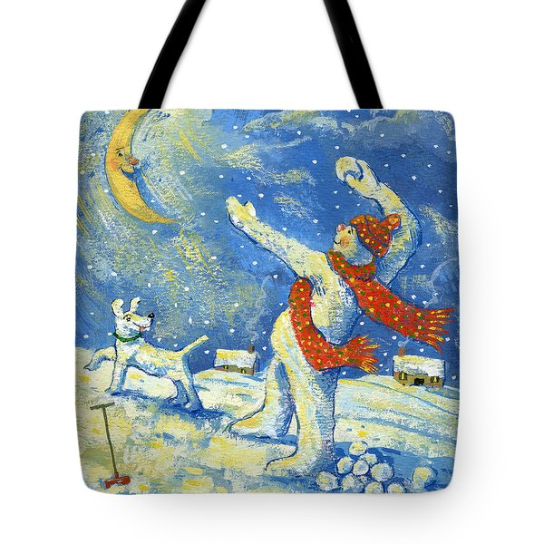 Midnight Fun And Games Tote Bag by David Cooke