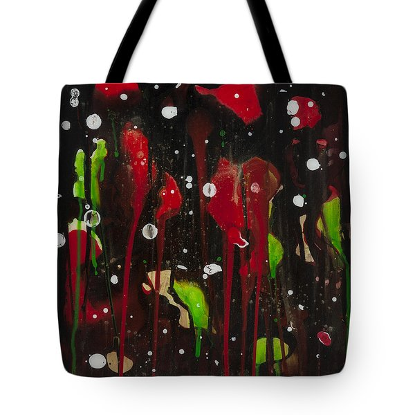 Midnight Garden Tote Bag