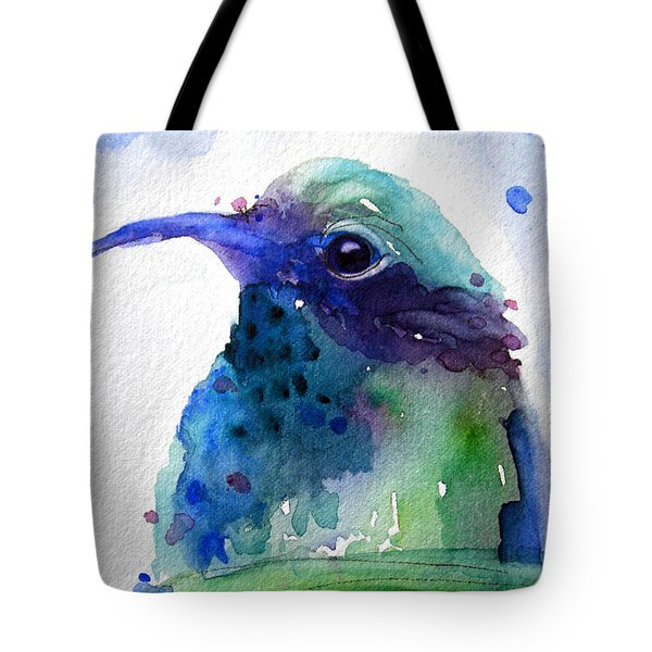 Midnight Hummer Tote Bag