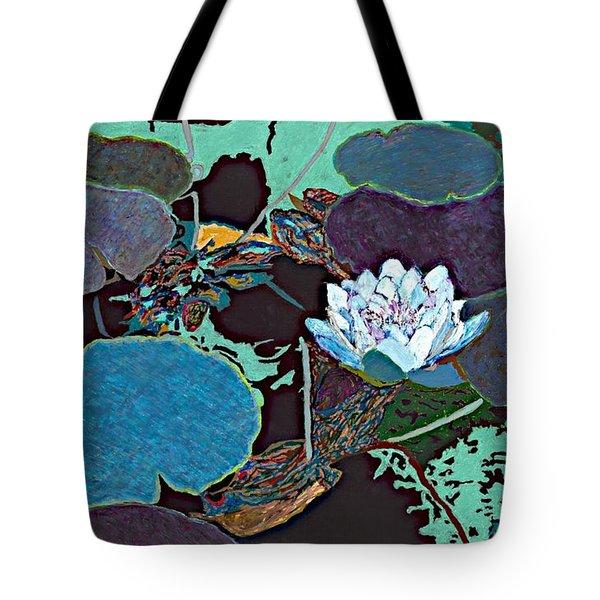 Midnight Moonglow Tote Bag by Allan P Friedlander