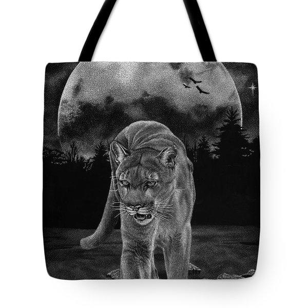 Midnight Patrol Tote Bag
