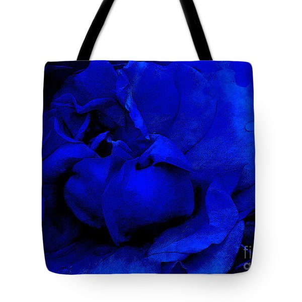 Midnight Rose Tote Bag by Sami Martin