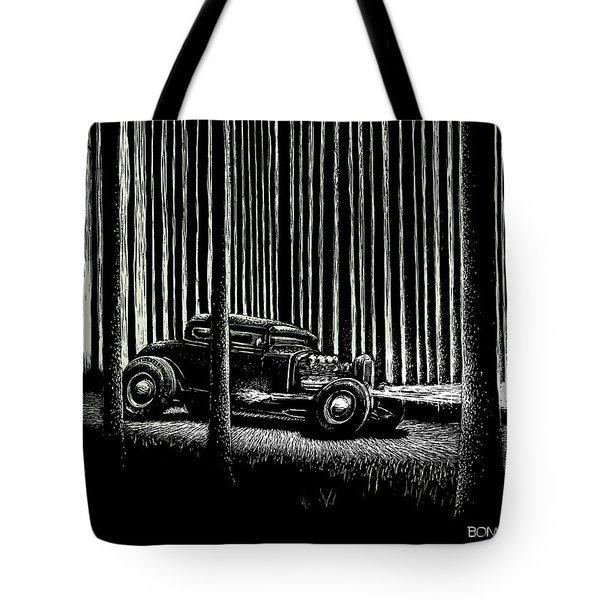 Midnight Run Tote Bag by Bomonster