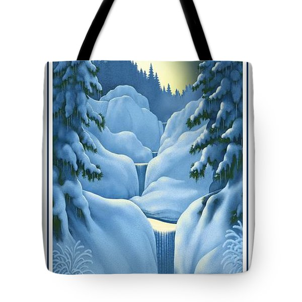 Midnight Sun Tote Bag by Scott Ross