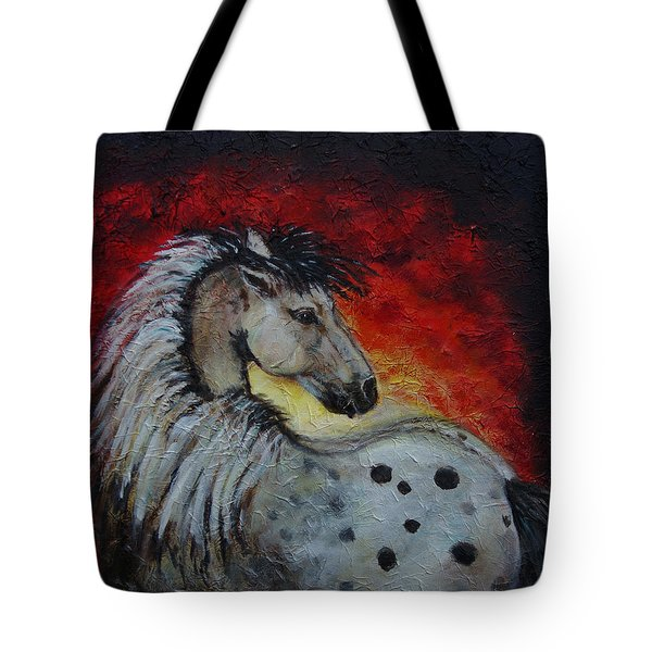 Midnight Sun Tote Bag by The Art With A Heart By Charlotte Phillips