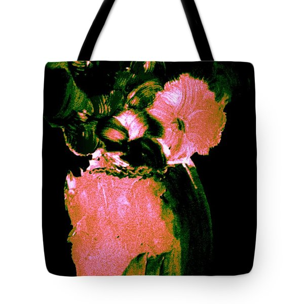 Tote Bag featuring the painting Midnight Visit by Bill OConnor