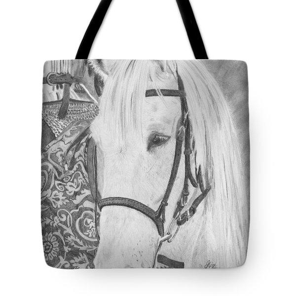 Midsummer Knight Majesty Tote Bag