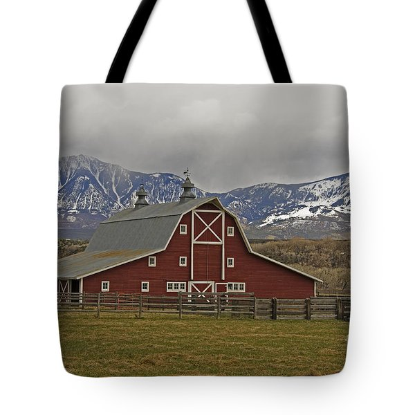 Midway Ranch Barn Tote Bag