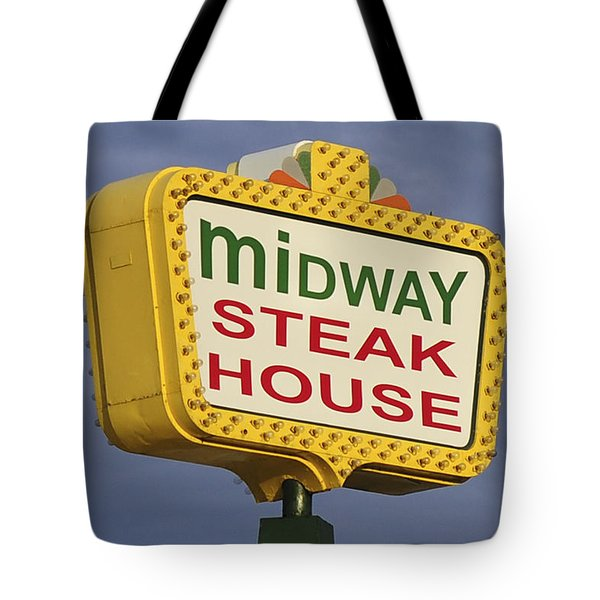 Midway Seaside Heights Boardwalk Nj Tote Bag