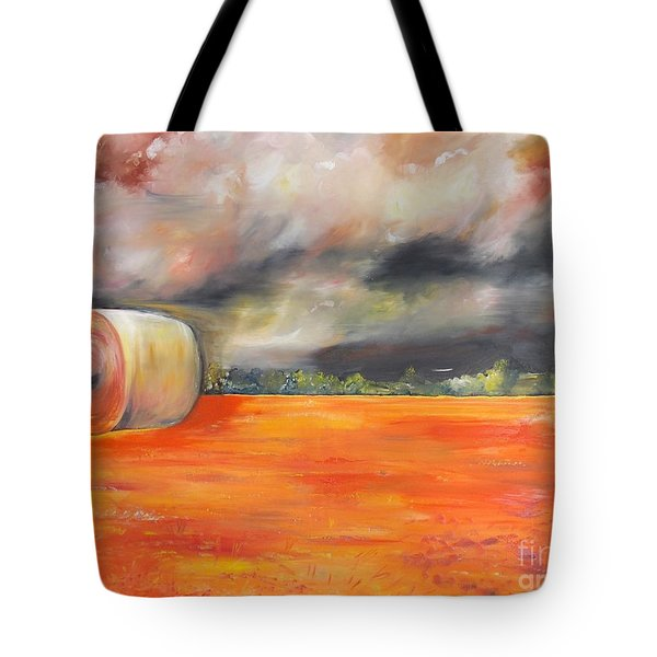 Tote Bag featuring the painting Midwest Grandeure by PainterArtist FIN