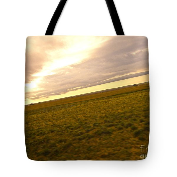 Midwest Slanted Tote Bag