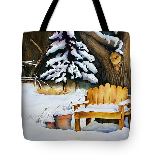 Midwest Winter Tote Bag