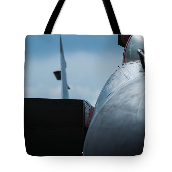 Mig-31 Interceptor Tote Bag by Alexander Senin