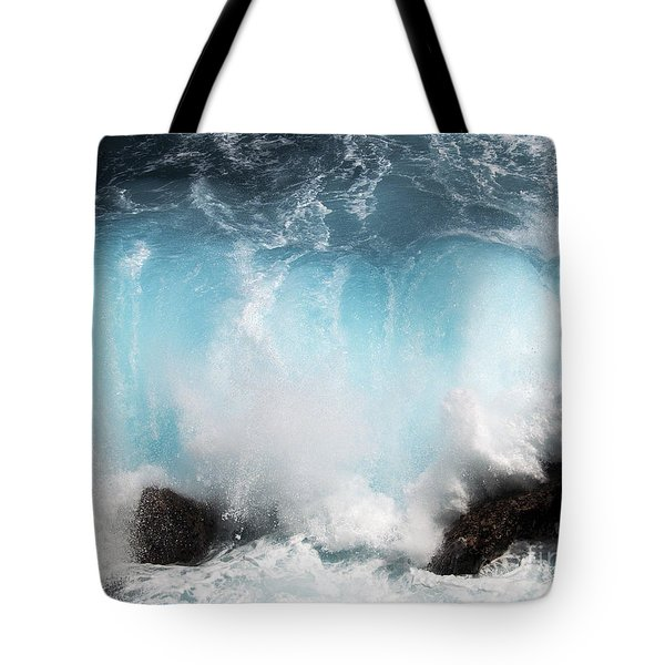 Might And Power Tote Bag by Patricia Griffin Brett