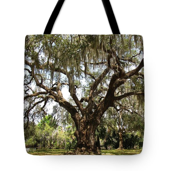 Tote Bag featuring the photograph Mighty Oak by Beth Vincent