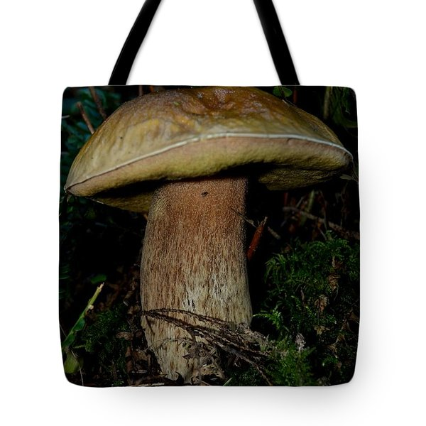 Mighty Toadstool Tote Bag