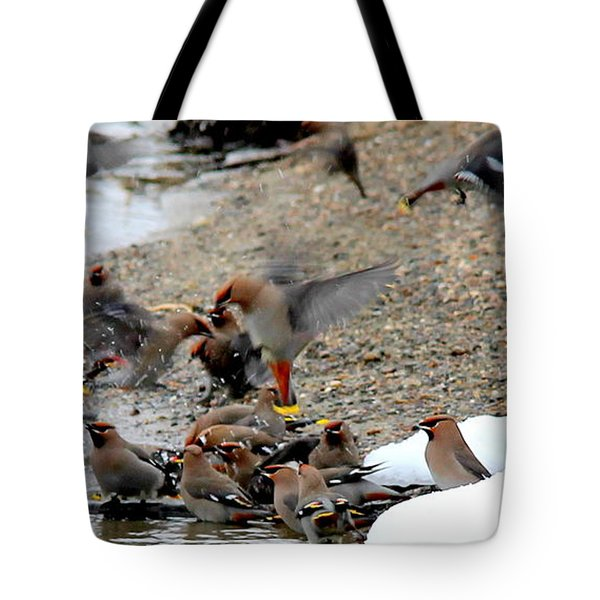 Migratory  Tote Bag by Kathy Bassett