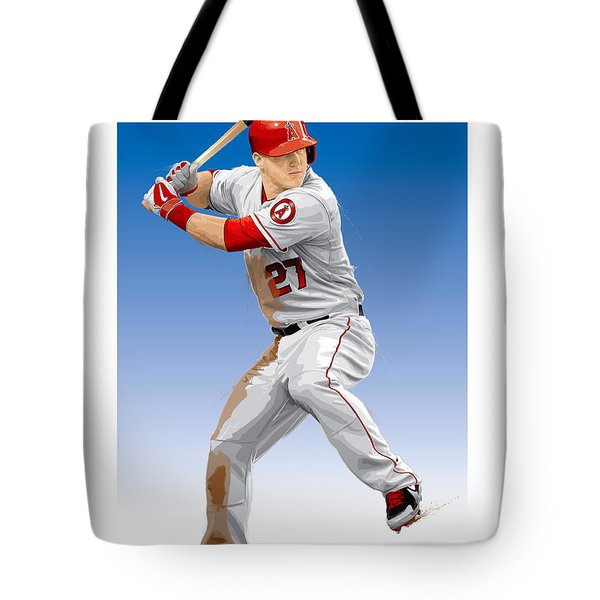Mike Trout Tote Bag