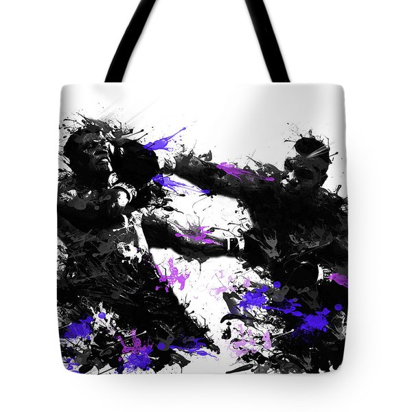 Mike Tyson Tote Bag by Bekim Art