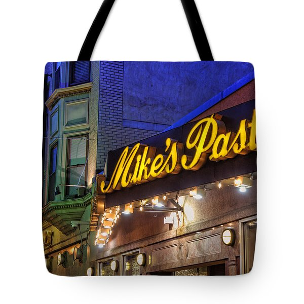 Mike's Pastry Shop - Boston Tote Bag by Joann Vitali