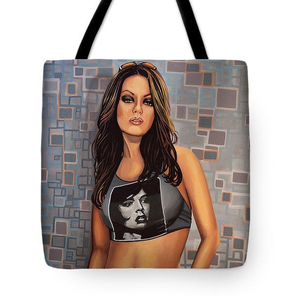 Mila Kunis Tote Bag