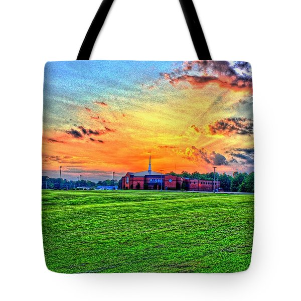 Milan First United Methodist Church Tote Bag