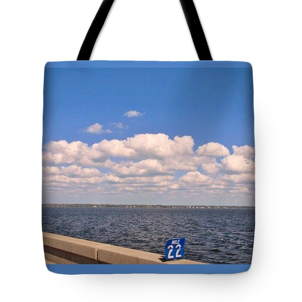 Mile 22 Tote Bag by Deborah Lacoste