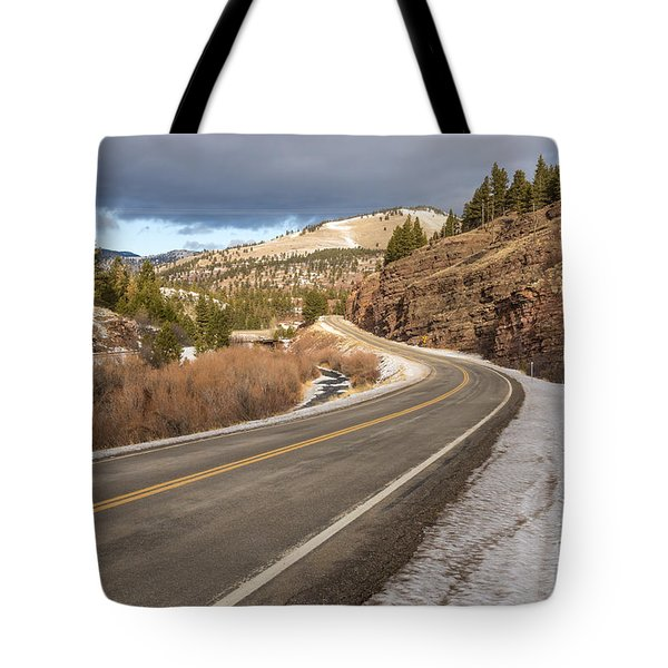 Mile One Tote Bag by Sue Smith