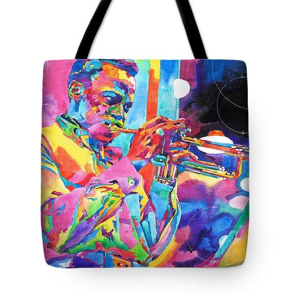 Miles Davis Bebop Tote Bag