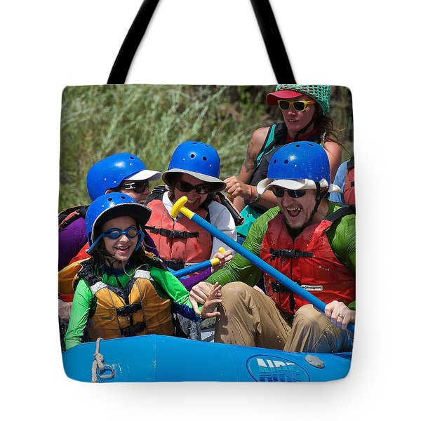 Miles Of Smiles Tote Bag by Britt Runyon