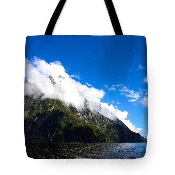 Tote Bag featuring the photograph Milford Sound #2 by Stuart Litoff