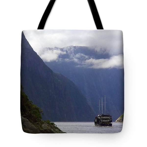 Milford Sound Tote Bag
