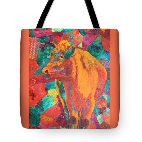 Milk Delivery Tote Bag by Nancy Jolley