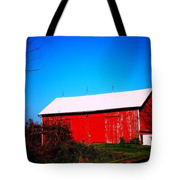Milk House And Barn Tote Bag