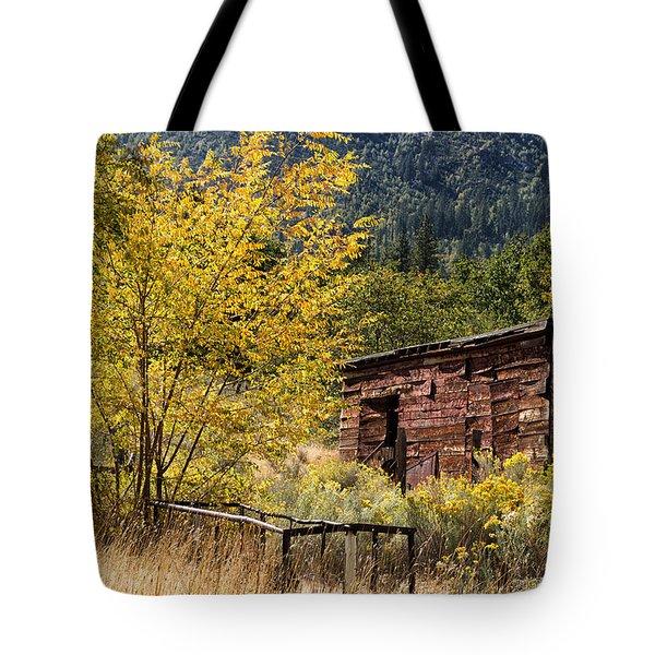 Milking Shed Tote Bag by Kathleen Bishop