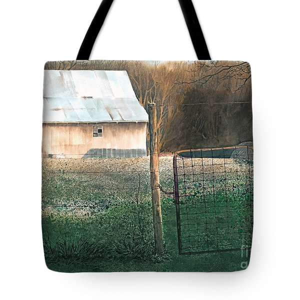 Milking Time Tote Bag