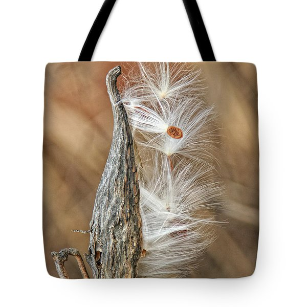 Milkweed Pod And Seeds Tote Bag
