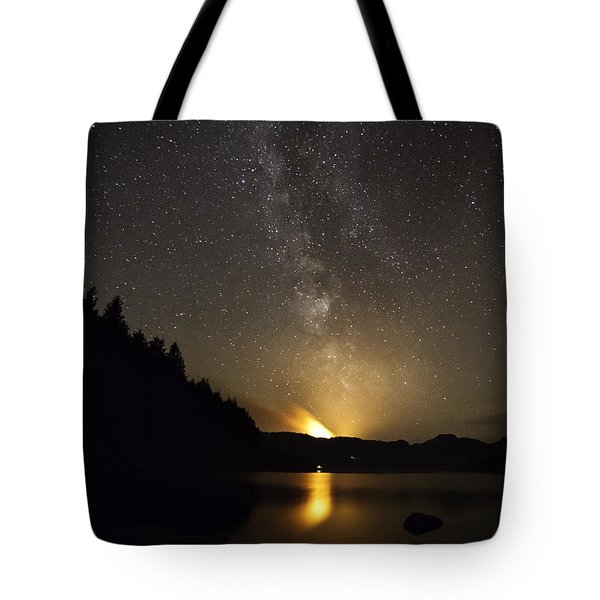 Milky Way At Crafnant 2 Tote Bag